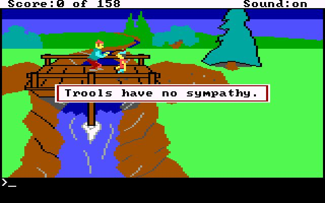 King's Quest troll